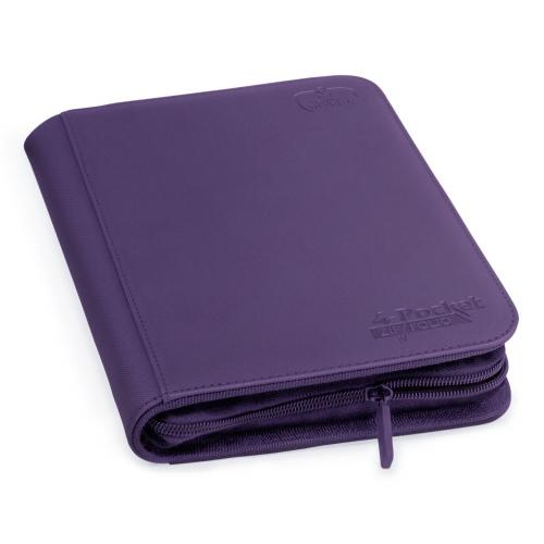 Ultimate Guard - 4-Pocket ZipFolio XenoSkin Violet