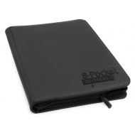 Ultimate Guard - 8-Pocket ZipFolio XenoSkin Noir