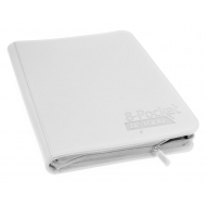 Ultimate Guard - 8-Pocket ZipFolio XenoSkin Blanc