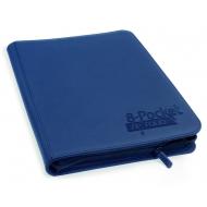 Ultimate Guard - 8-Pocket ZipFolio XenoSkin Bleu Marine