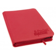 Ultimate Guard - 8-Pocket ZipFolio XenoSkin Rouge