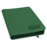 Ultimate Guard - 8-Pocket ZipFolio XenoSkin Vert