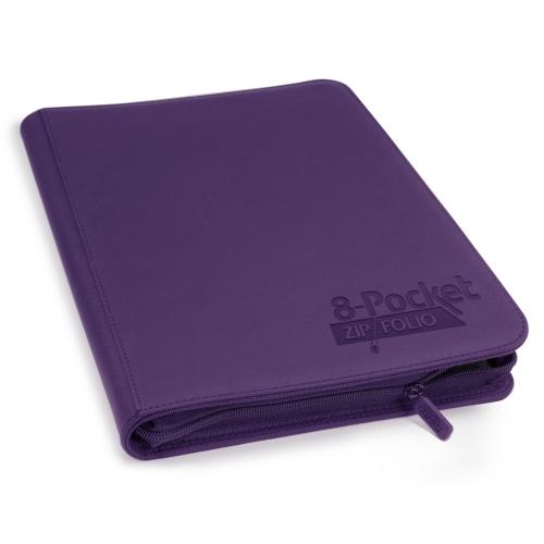 Ultimate Guard - 8-Pocket ZipFolio XenoSkin Violet