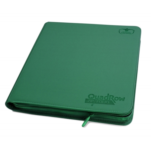 Ultimate Guard - 12-Pocket QuadRow ZipFolio XenoSkin Vert