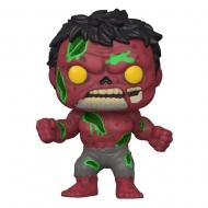 Marvel - Figurine POP! Zombie Red Hulk 9 cm