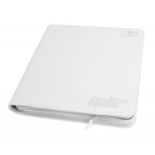 Ultimate Guard - 12-Pocket QuadRow ZipFolio XenoSkin Blanc
