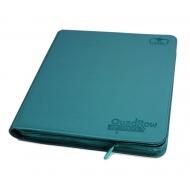 Ultimate Guard - 12-Pocket QuadRow ZipFolio XenoSkin Bleu Pétrole