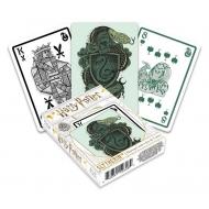 Harry Potter - Jeu de cartes à jouer Serpentard