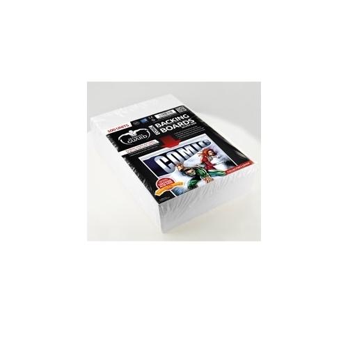 Ultra Pro Ultimate Guard - Backboards Comics Silver Size (100)