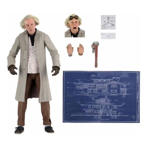 Retour vers le futur - Figurine Ultimate Doc Brown 18 cm