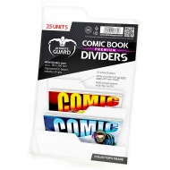Ultimate Guard - 25 intercalaires pour Comics Premium Comic Book Dividers Blanc
