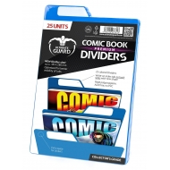 Ultimate Guard - 25 intercalaires pour Comics Premium Comic Book Dividers Bleu
