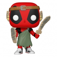 Deadpool 30th Anniversaire - Figurine POP! Nerd Deadpool 9 cm