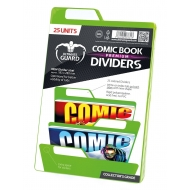 Ultimate Guard - 25 intercalaires pour Comics Premium Comic Book Dividers Vert