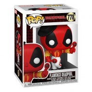 Deadpool 30th Anniversaire - Figurine POP! Flamenco Deadpool 9 cm