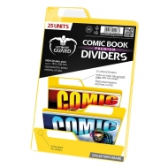 Ultimate Guard - 25 intercalaires pour Comics Premium Comic Book Dividers Jaune