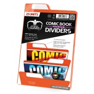 Ultimate Guard - 25 intercalaires pour Comics Premium Comic Book Dividers Orange