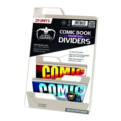 Ultimate Guard - 25 intercalaires pour Comics Premium Comic Book Dividers Sable