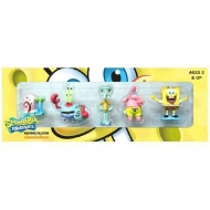 Bob l' eponge - Set de 6 mini Figurines Série 1