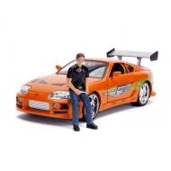 Fast & Furious - Réplique métal 1/18 Toyota Supra 1995