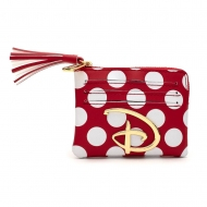 Disney - Etui pour carte de transport Polka Dot Logo Disney By Loungefly