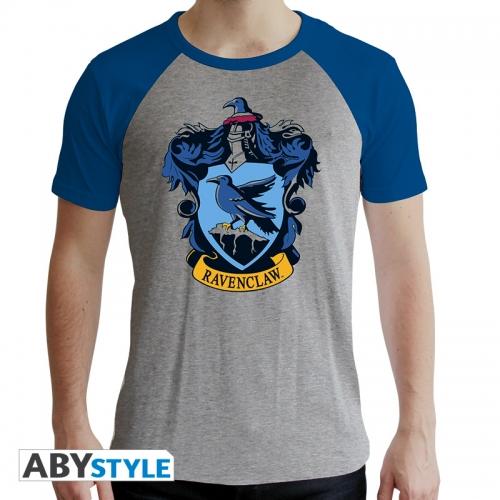 Harry Potter - T-shirt Serdaigle gris & bleu