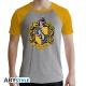 Harry Potter - T-shirt Poufsouffle gris & jaune