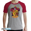 Harry Potter - T-shirt Gryffondor gris & rouge