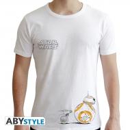 Star Wars - T-shirt Droïdes blanc