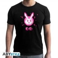 Overwatch - T-shirt D.VA GG noir