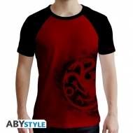 Game Of Thrones - T-shirt Targaryen rouge & noir