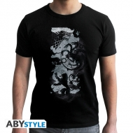 Game Of Thrones - T-shirt Carte noir