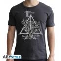Harry Potter - T-shirt Reliques gris foncé
