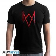 Watch Dogs - T-shirt - Logo Legion -  homme MC black - Basic
