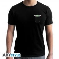 The Mandalorian - T-shirt Bébé Yoda noir