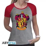 Harry Potter - T-shirt femme Gryffondor gris & rouge