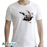 Marvel - T-shirt Spider-Man Encre blanc
