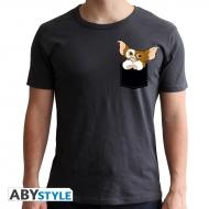 Gremlins - T-shirt Pocket Gizmo gris foncé