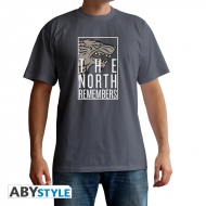Game Of Thrones - T-shirt The North Remembers gris