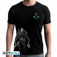 Assassin's Creed - T-shirt Viking noir