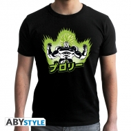 Dragon Ball Broly - T-shirt Broly noir