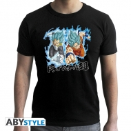 Dragon Ball Super - T-shirt Goku & Vegeta noir