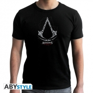 Assassin's Creed - T-shirt homme Crest noir