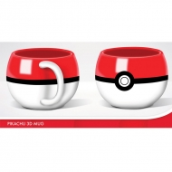 Pokemon - Mug 3D Pokemon POKEBALL