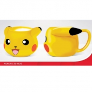 Pokemon - Mug 3D Pokemon PIKACHU
