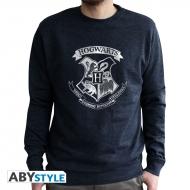 Harry Potter - Sweat homme  vintage Poudlard used navy