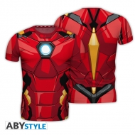 Marvel - T-shirt réplique Iron Man homme