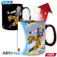 Dragon Ball - Mug Heat Change Goku VS Buu