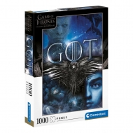 Game of Thrones - Puzzle Three-Eyed Raven (1000 pièces)