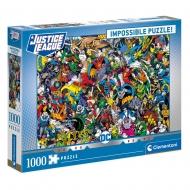 DC Comics - Impossible puzzle Justice League (1000 pièces)